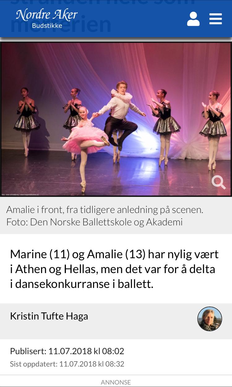 Nordre Aker Budstikke, July 2018